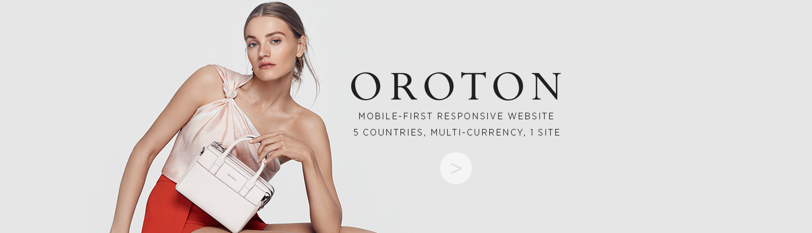 Now Solutions partnering with Oroton to develop Mobile first responsive website