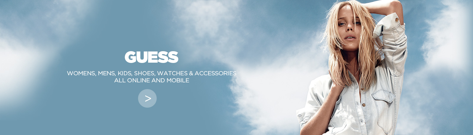 New GUESS e-commerce website and Mobile site built by NOW Solutions Digital Agency
