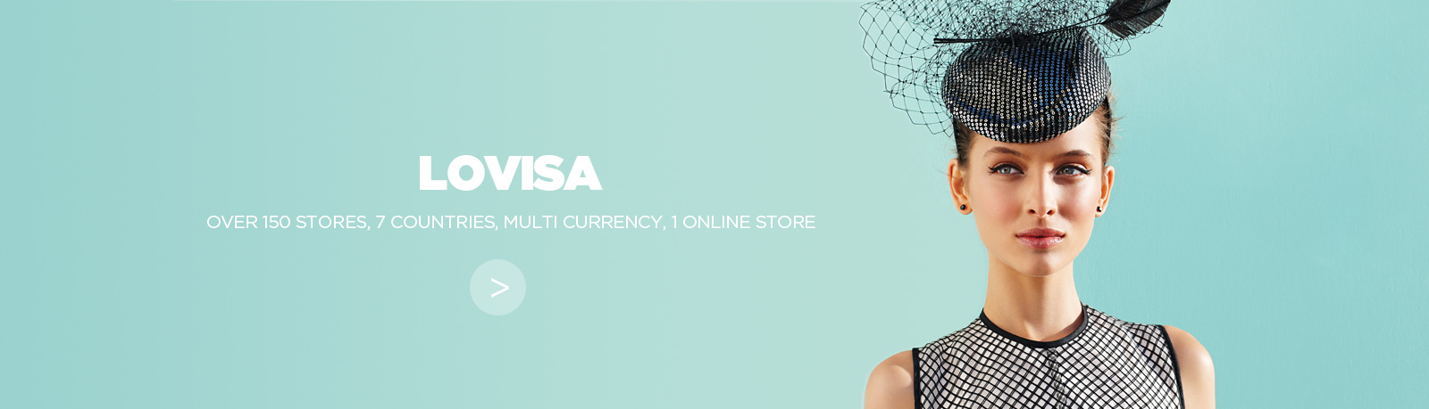 Lovisa e-commerce website and mobile site built on Magento by NOW Solutions Digital Agency