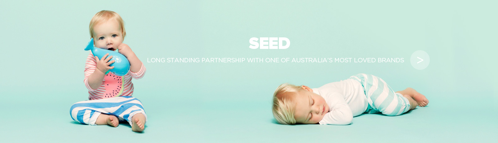 Seed Heritage e-commerce website and mobile site built by NOW Solutions Digital Agency