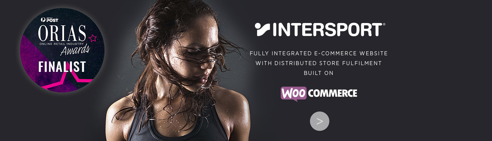 Intersport Fully Integrated eCommerce website with distributed store fulfilment built on WooCommerce. Nominated for ORIA award for best in-store initiative stockinstore