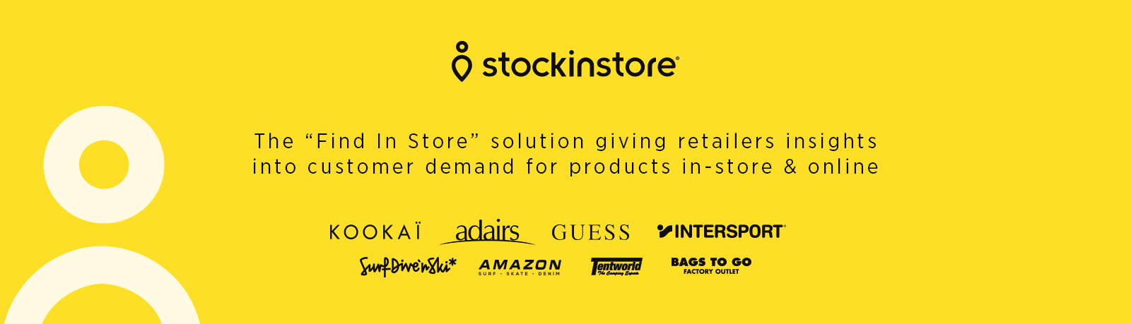 stockinstore is the find in store solution with unique reporting on customer demand for products across their store network